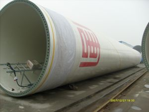 China High Quality Wind Power Tower pictures & photos
