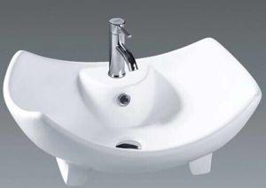 Unique Bathroom Ceramic Art Basin Wash Sink (037) pictures & photos
