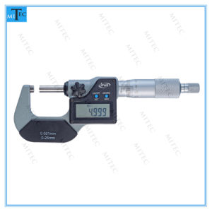 IP65 Water Proof out Side Digital Micrometer (2 buttons) pictures & photos