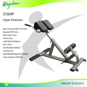 Hyper Extension/Fitness Strength Gym Exercise Equipment Bench Hyper Extension pictures & photos