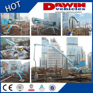 Dawin 15m Economic Mobile Concrete Placing Boom for Working in Narrow Place pictures & photos