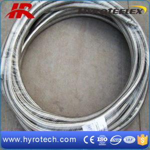 Stainless Steel Braided PTFE Teflon Hose/SAE 100 R14/Ss304 Braided Teflon Hose pictures & photos