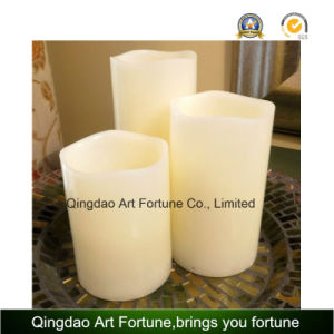 Flameless Real Wax LED Candle with Warm White Light pictures & photos