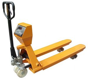 Manual Heavy Duty Scale Pallet Truck (2000kg) pictures & photos