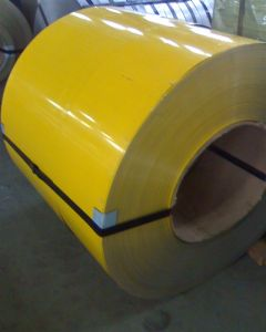 Excellent Color Coated Steel Coil for Machinery Material pictures & photos