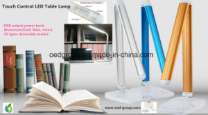 10W Aluminum LED Desk Reading Lamp with Touch Control CCT and Lumens Dimmable pictures & photos