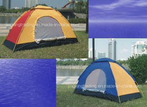 180t Single-Skin Comfortable Camping Tent for 1 Person (JX-CT005) pictures & photos