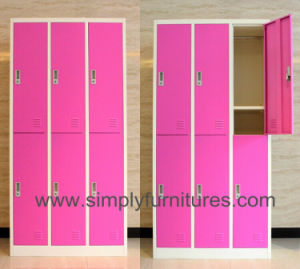 School Use Steel Lockable Closet pictures & photos