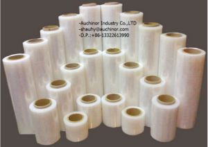 Stretch Film/Red Color LLDPE Handy Wrap/Pallet Stretch Wrap pictures & photos