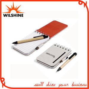 Popular Cheap Chinese Pocket Spiral Mini Notebook with Pen (PNB015) pictures & photos