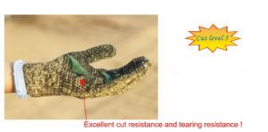 Aramid Fibers Cut Level 5 Cut Resistant Gloves