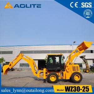 Garden Small Tractor Loader Backhoe Loader Wz30-25 with 2500kg pictures & photos