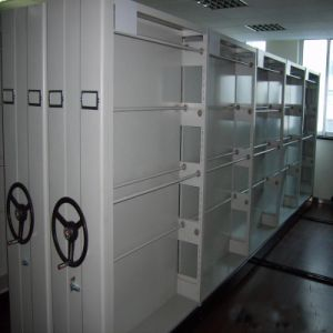Office Large Capacity High Density Steel Mobile File Storage Cabinet for Box Files/Mobile pictures & photos