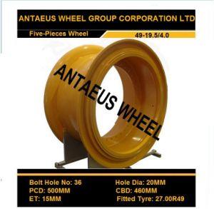 Mining Wheel Rim 49-19.5/4.0