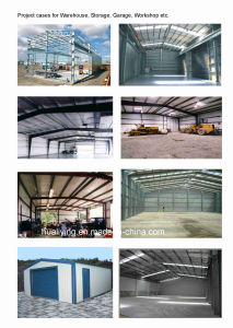 Light Type Steel Workshop Application Pre Engineering Steel Structure Building pictures & photos