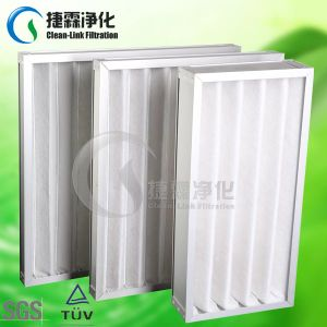 Synthetic Fiber Foldaway Air Plank Filter pictures & photos