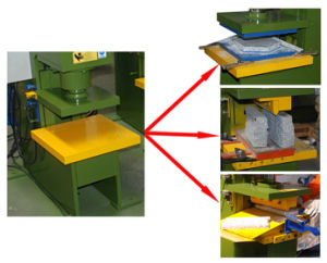 Hydraulic Stone Printing Machine for Marble and Granite pictures & photos