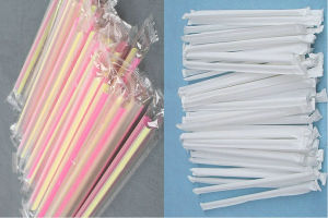 Single Drinking Straw Package Machine pictures & photos