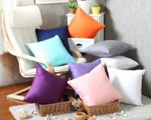 Colorful 100% Cotton Polyester Pillow Case (T26) pictures & photos