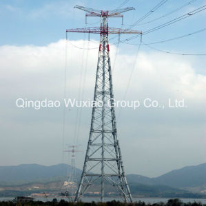 Power Supply Power Transmission Electric Distribution Tubular Steel Pipe Tower pictures & photos