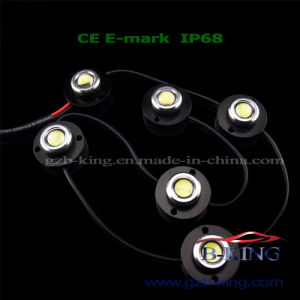 IP68 Super Bright 12*1W LED DRL pictures & photos