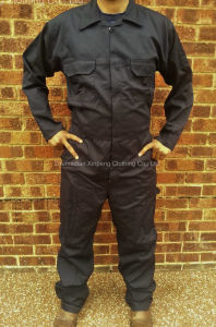 Basic Design Coverall Safety Uniform T/C65/35 190GSM Fabric pictures & photos