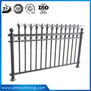 Rust-Proof/Antiseptic/High Quality Security Garden Fence of Sand Casting Wrought Iron pictures & photos