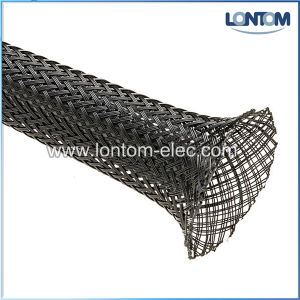 Polyester Yarns Braided Expandable Mesh Tube pictures & photos