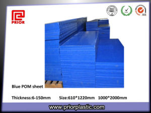 Blue Delrin Sheet with Good Flatness pictures & photos