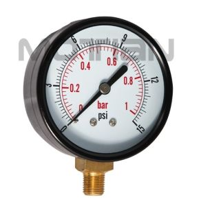 2.5 Inch Steel Glass Surface Pressure Gauge pictures & photos