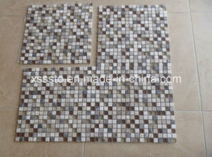Hot Sell Glass+Marble Mosaic Tiles for Wall pictures & photos