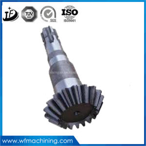 OEM Customized 16mncr5/20mncr5/25mncr5/28mncr5/Zf6/Zf7/Zf7b CNC Machining Exquisite Spur Gears Shaft pictures & photos