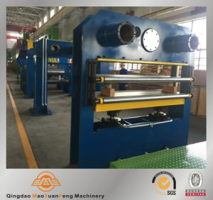 The Rubber Conveyor Belt Vulcanizing Curing Press Production Line with ISO SGS BV pictures & photos