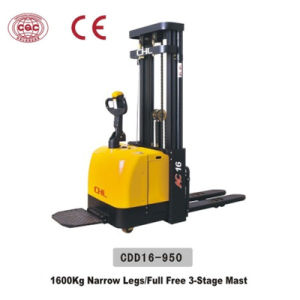 2 Ton Hydraulic Hand Forklift Stacker (SDA20) pictures & photos