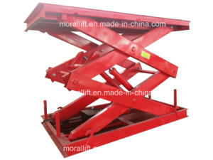 China Supplier Stationary Scissor Lift for Cargo with CE Certificated pictures & photos