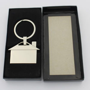 Nickel Free Metal House Keyholder with Paper Gift Box pictures & photos