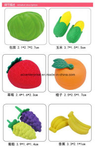 Different Fruit Shape Erasers pictures & photos
