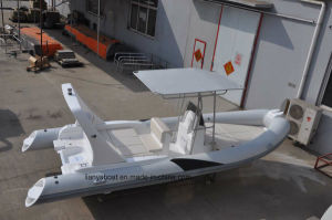 Liya 6.6m Hypalon Inflatable Ribs Boat Rubber Boat Yacht for Sale pictures & photos