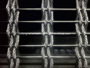 Stainless Steel Cable&Rod Mesh of Curtain Wall pictures & photos