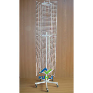 Revolving Four Sides Wire Mesh Display (PHY207) pictures & photos
