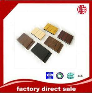 SGS Aluminium Extrusion Wood Grain Profile pictures & photos