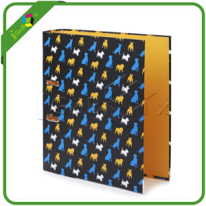 Custom Printed Cardboard Paper Lever Arch File Ring Binder pictures & photos
