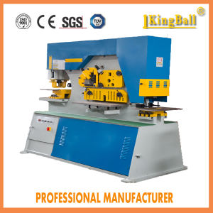 Hydraulic Iron Worker Machine Q35y 25 High Precision Kingball Manufacturer pictures & photos
