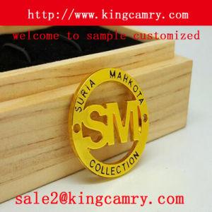 Metal Logo Label Badge Label Bag Nameplate Label Metal Label for Shoe Handbag Clothing pictures & photos