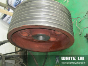 Cone Crusher Pulley pictures & photos