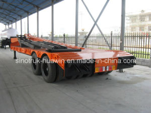 Sinotruk Two-Lines Four-Axle Low Bed Semi Trailer pictures & photos
