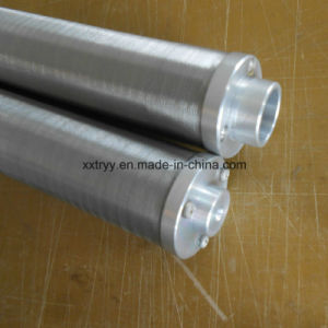 Backwashing 30 Micron 304 Stainless Steel Notch Wire Element pictures & photos