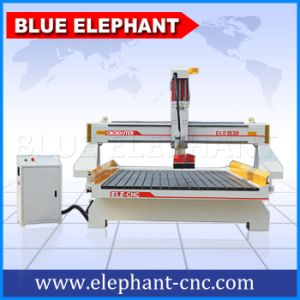 Z Axis Lengthened Woodworking CNC Router with Dust Hood pictures & photos