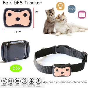 2017 New Developed Pets GPS Tracker with 2way Communication (D69) pictures & photos