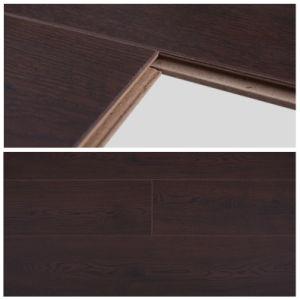 China 12mm coffee oak e i r finish german technology for Easy lock laminate flooring
